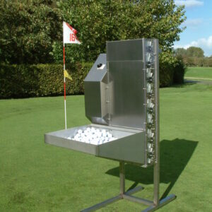 Golfball washer