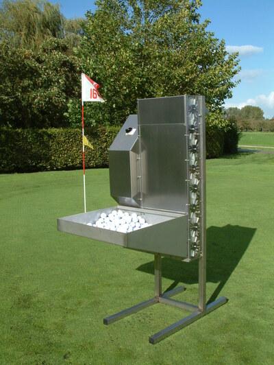 Golfball washer